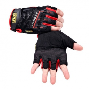фото Перчатки Mechanix M-pact Fingerless Red