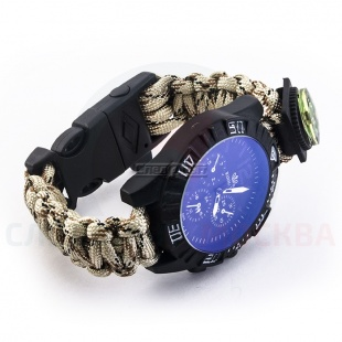 ����������� ���� Rinnady Paracord Watch c ������� SAND