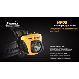 Фонарь Fenix HP05 XP-G (R5) серый